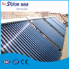 Pressurized heat pipe vacuum tube solar water heater system