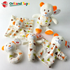 super soft velboa plush new born newborn baby gift sets toys bear pattern