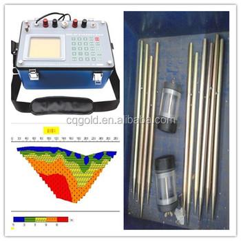 7ea5f0053 La tierra de resistividad instrumento para medir inducida por la  polarización