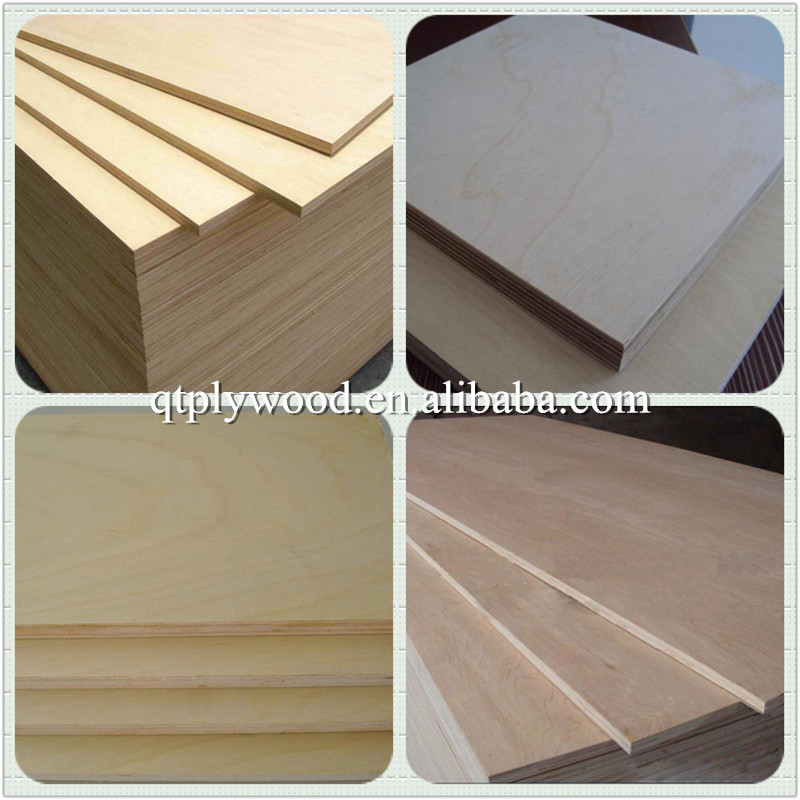 commercial plywood at wholesale price 3mm birch plywood
