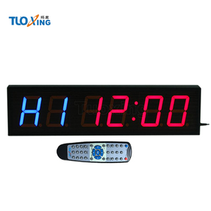 6 digit 4 inch LED power supply timer