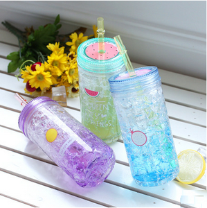 New Design Summer Fruit Cold Cup Freezing cup