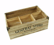 Vintage Houten Opslag Ontwerp <span class=keywords><strong>Compartiment</strong></span> box