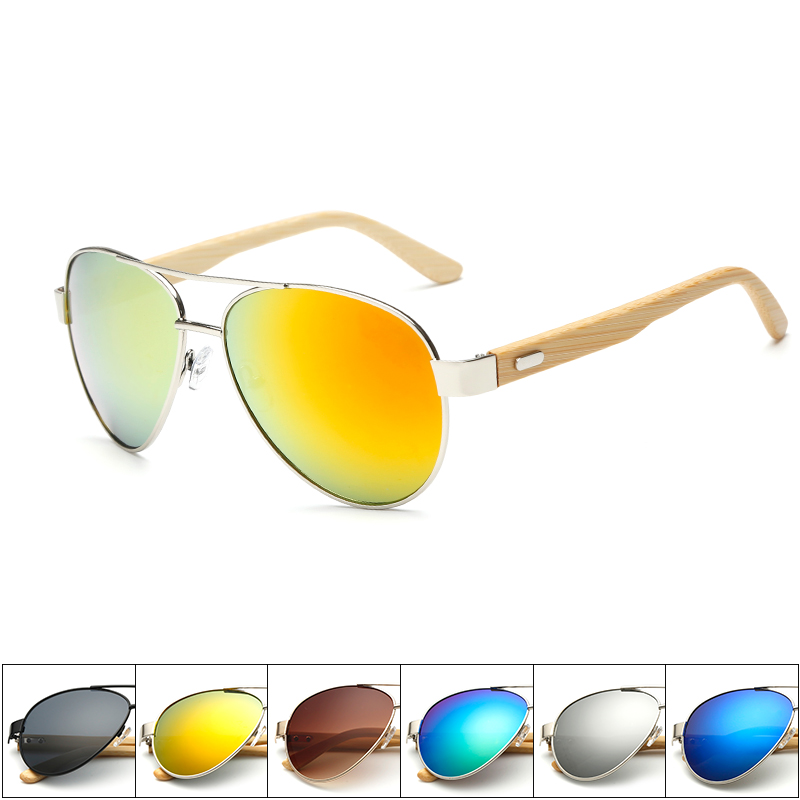 Superhot wholesale Cheap Wooden Bamboo Sunglasses Private Label Wood Eyewear sports Men/Women Handmade Stand 151007