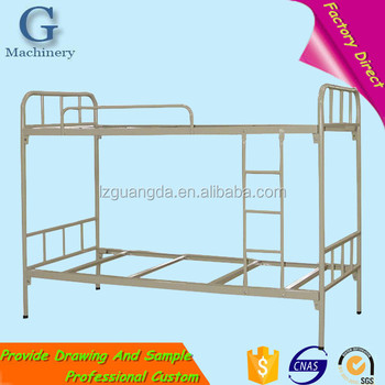 Best Quality Iron Single Student Bunk Bed With Metal Frame Buy