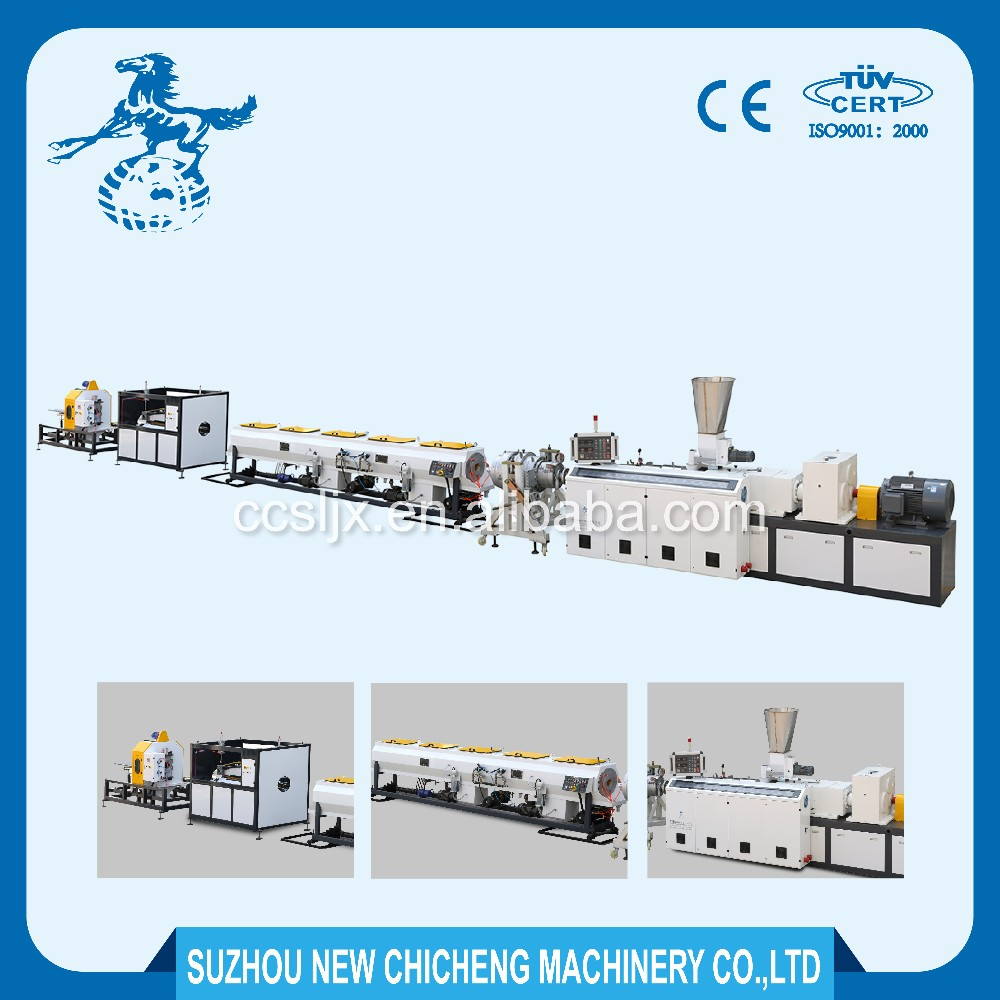 Automatic plastic extruder machine pvc pipe production line price