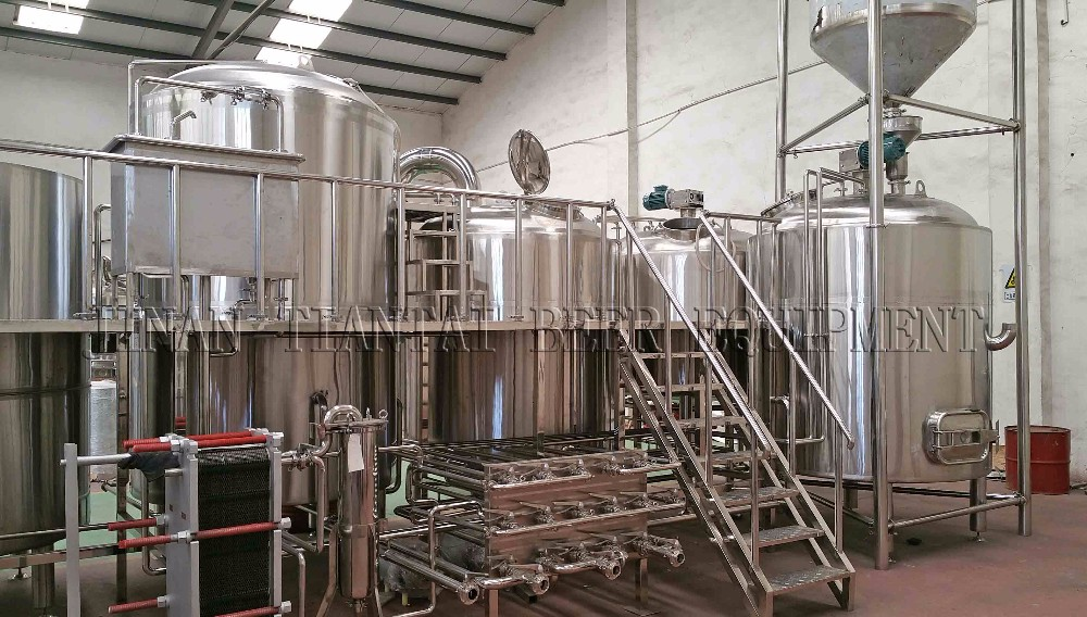 Electric Steam Two Vessel 5 Bbl Brewing System For Sale