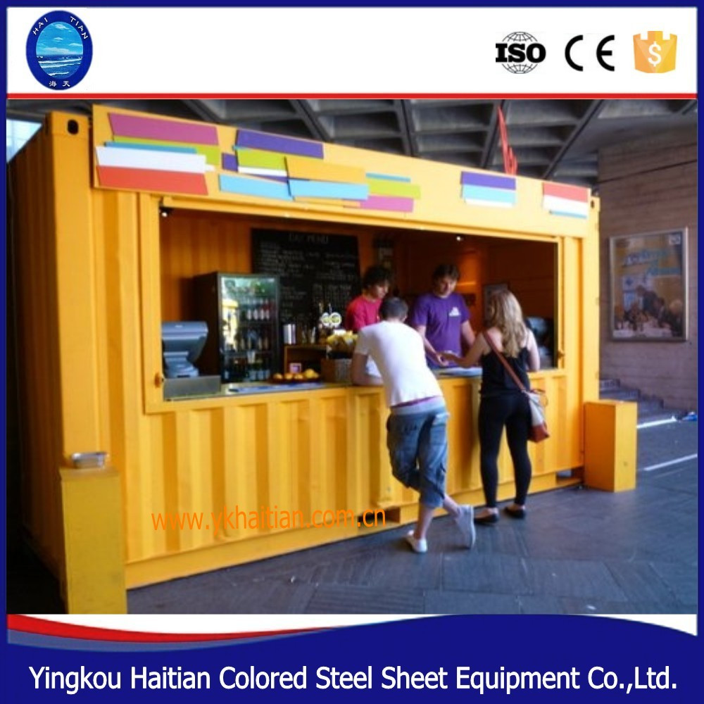 Coffee Shop Mobile Mini Shipping Outdoor Container Shop