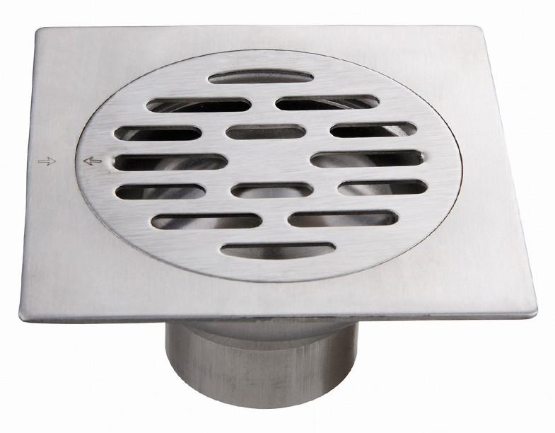 Bathroom Floor Drain Types : Floor drain with free