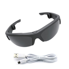 NEW water-proof bone conduction bluetooth sunglasses with different color lens bone conduction glasses