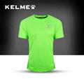 2016 Kelme Soccer Jersey Short Sleeved Quick Dry Breathable Running T shirts men fitness Jersey Football