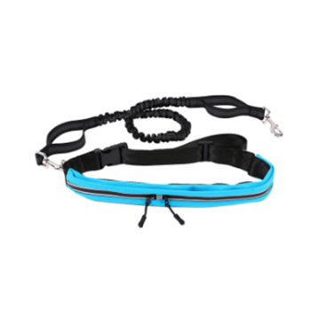 Simple Design Long Dog Leash Nylon Reflective Hands Free Dog Bungee Leash