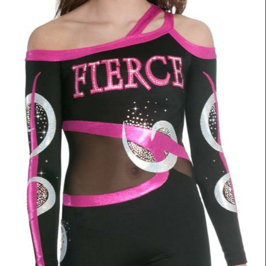 OEM Girls Competition Cheer Leading Uniform Dance Wear