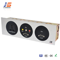 JS-FW103 With RJ45 HDMI Network Multimedia Wall Socket Faceplate Connection Box For Hotel