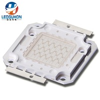Z3C square shape fram make high power 30w blue led cob
