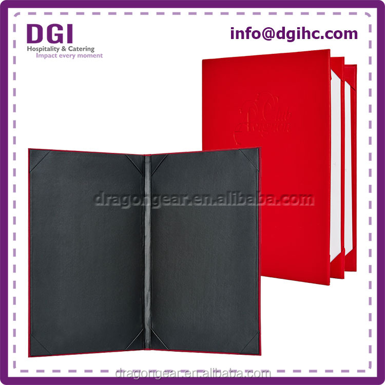 Brand new leather folio case for ipad mini with brand logo
