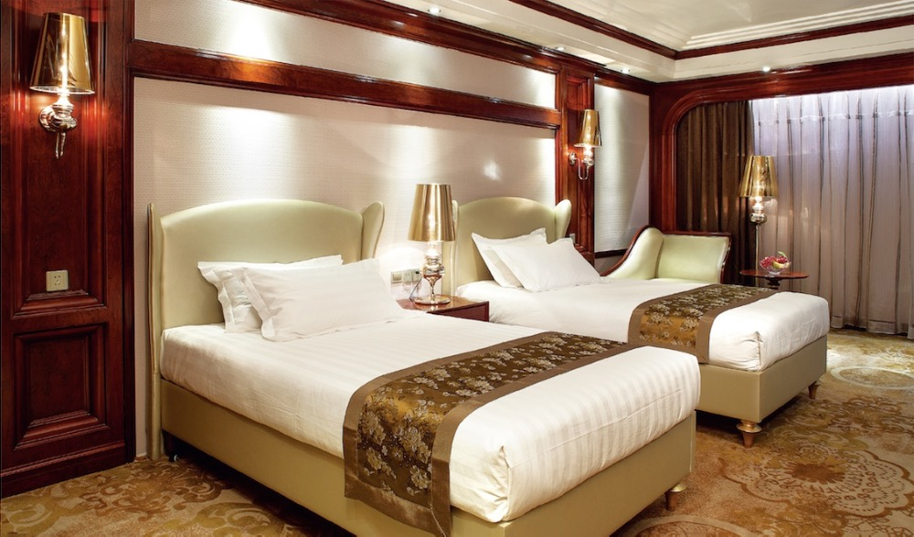Luxury Hotel Room Furniture/ Hotel Bedroom Set/5 Star Hotel Suite Furniture Supplier GZH-TM020