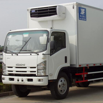 Japan 700P 4x2 5-7 ton refrigerated truck, mini refrigerator truck