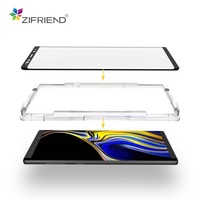 Waterproof anti fingerprint 3D curved edge tempered glass screen protector for Samsung Galaxy s7 s8 s9 note 8 note 9 plus