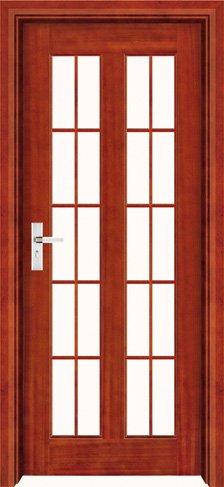 puertas interiores de madera con inserciones de cristal modernas puertas de madera interior puerta de madera
