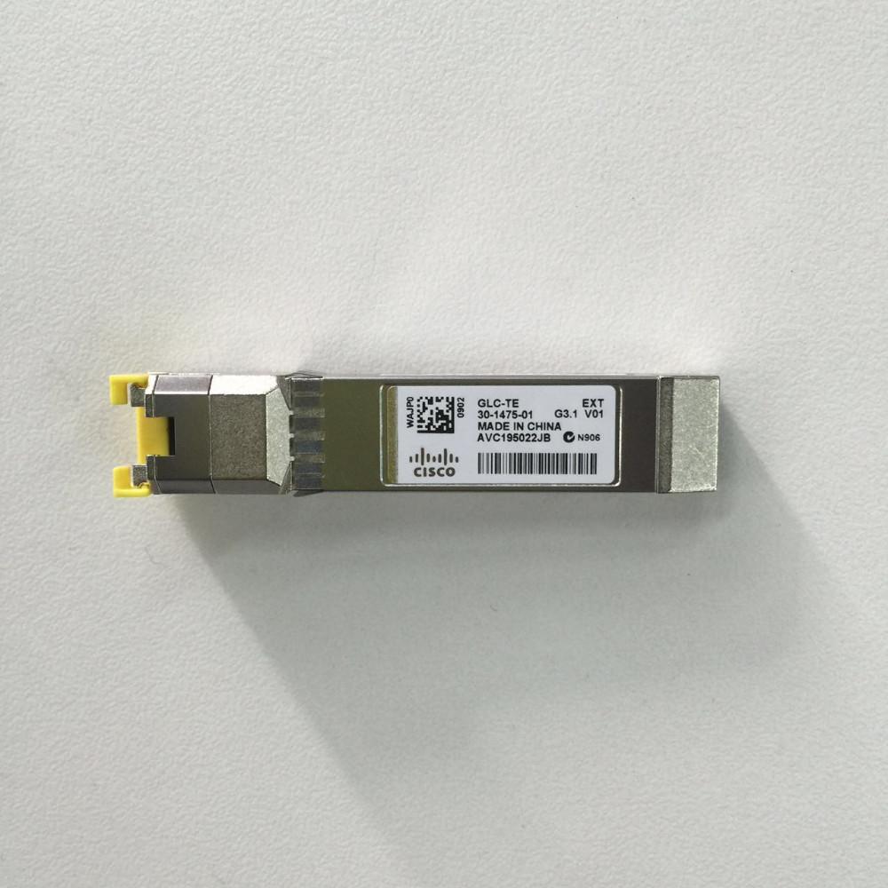 Original Cisco Glc-te Sfp To Rj45 100m1000base-tx Copper Transceiver Module  - Buy 1000base-tx Sfp Transceiver,Fiber To Rj45 Converter Sfp Media