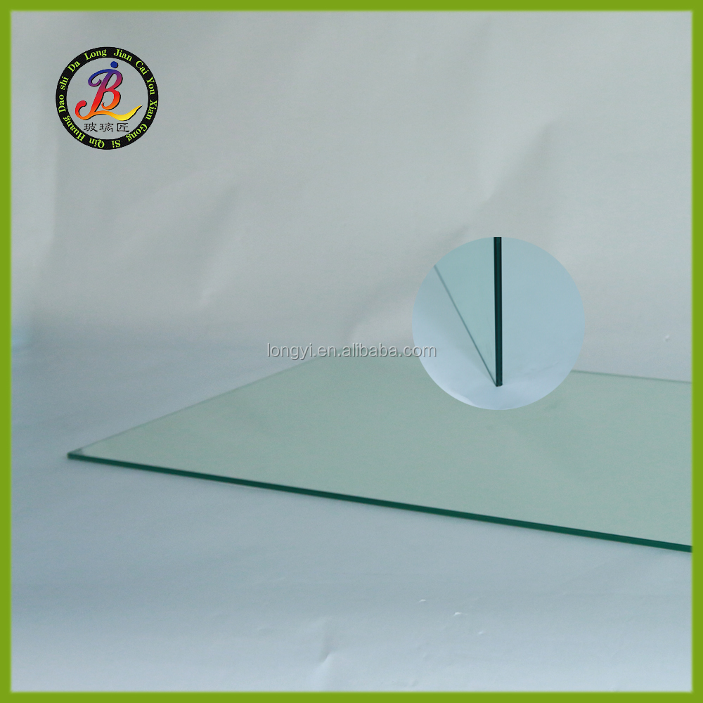 3.2+2.28+3.2mm white laminated glass