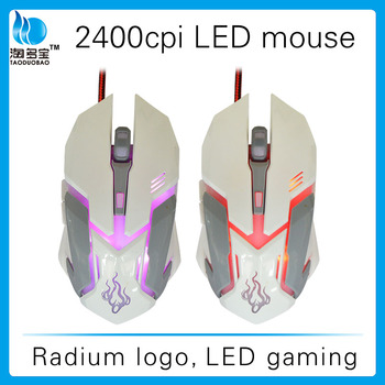 Factory supply ! Backlight led usb computer mouse drivers usb 6d gaming mouse