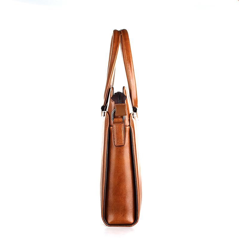 9845382d5 DS0001Fashion ManVintageStyle Simples bolsa Para Laptop de Couro maleta  Retro simples Saco Bolsa Tote Saco Do