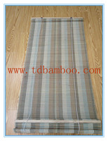 factory price stripe bamboo window curtain for hotel