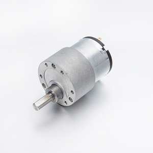 Rohs 10kg/cm low rpm 30rpm high torque 37mm 12V mini permanent magnet dc brush metal gear box electric motor for robot