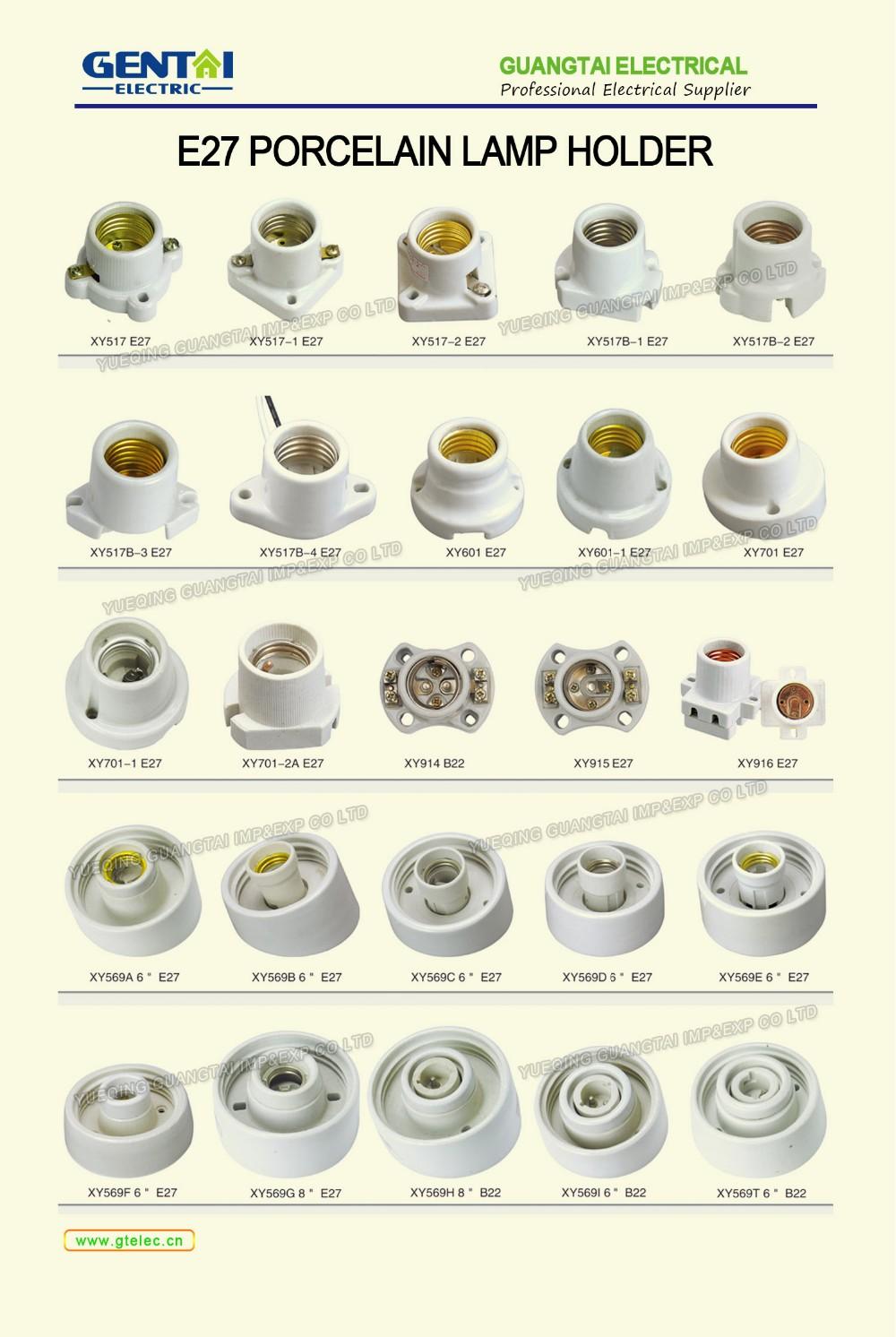 Porcelain Manufacture E26 Lamp Holder Sockets Light Bulb
