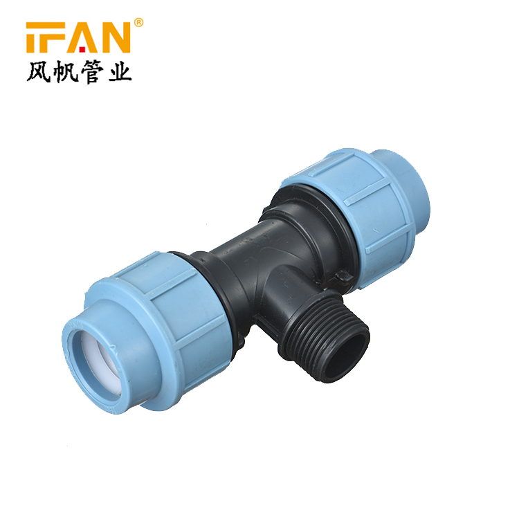 2019 New Products Plastic Tube Water Supply Polyethylene Connector Coupling HDPE Pipe <strong>Fitting</strong>