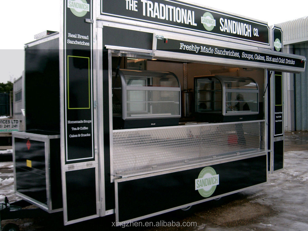 The Best Selling Military Mobile Kitchen Trailer With Ce