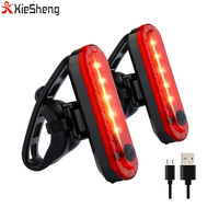 USB Rechargeable LED Bicycle Rear light Waterproof LED Bike Tail Light