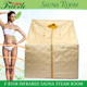 portable hot new product far infrared sauna room detox steam sauna room in home