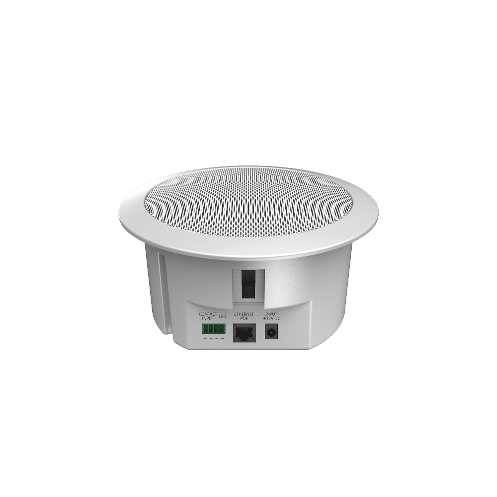 AI-9211 IP Public Address System IP POE Ceiling Speaker