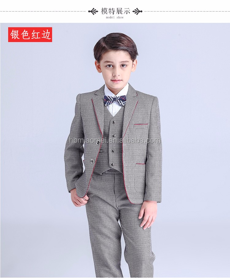Korea Style Wester Wear Wedding Boy Dress For Baby Boy - Buy Boy ...