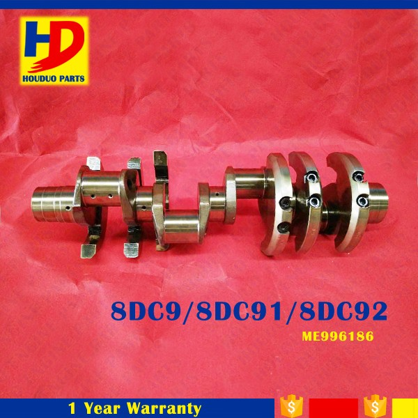 8DC9 8DC91 8DC92 Engine Crankshaft With Cast Steel OEM ME996186