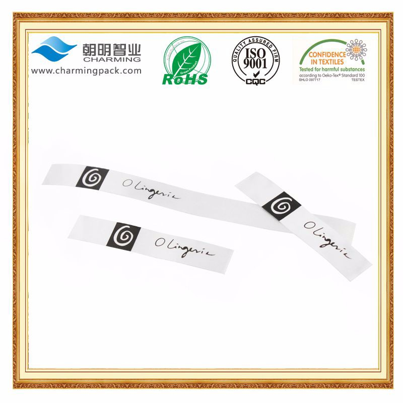 Factory price custom brand clothing printing tag label/clothing size label/washing instructions printing fabric label