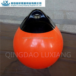 luxiang brand orange UV-resistance A buoy boat fender
