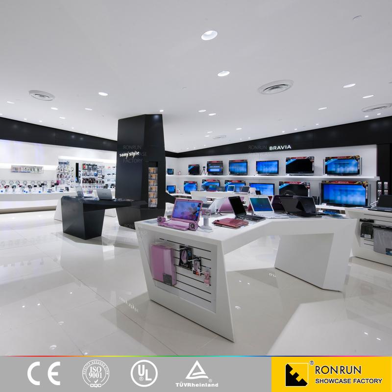 téléphone portable accessoire affichage magasin meubles pour ... - Meuble Pour Telephone Design