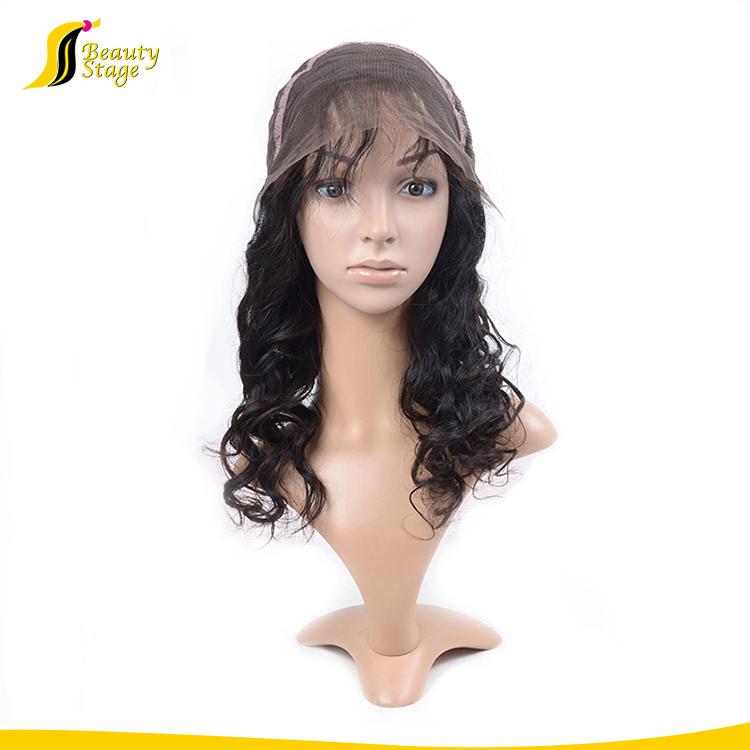 natürliche Perücke des natürlichen Haares für Verkauf in der Perücke jeddah Aisi, Lacefrontperücken-Menschenhaar, dünner Hautumfang 4/613 volle Spitzeperücke