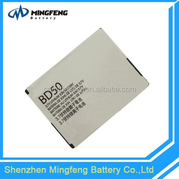 High Capacity 700mAh Cheap BD50 Battery for Motorola EM325/EM25/F3