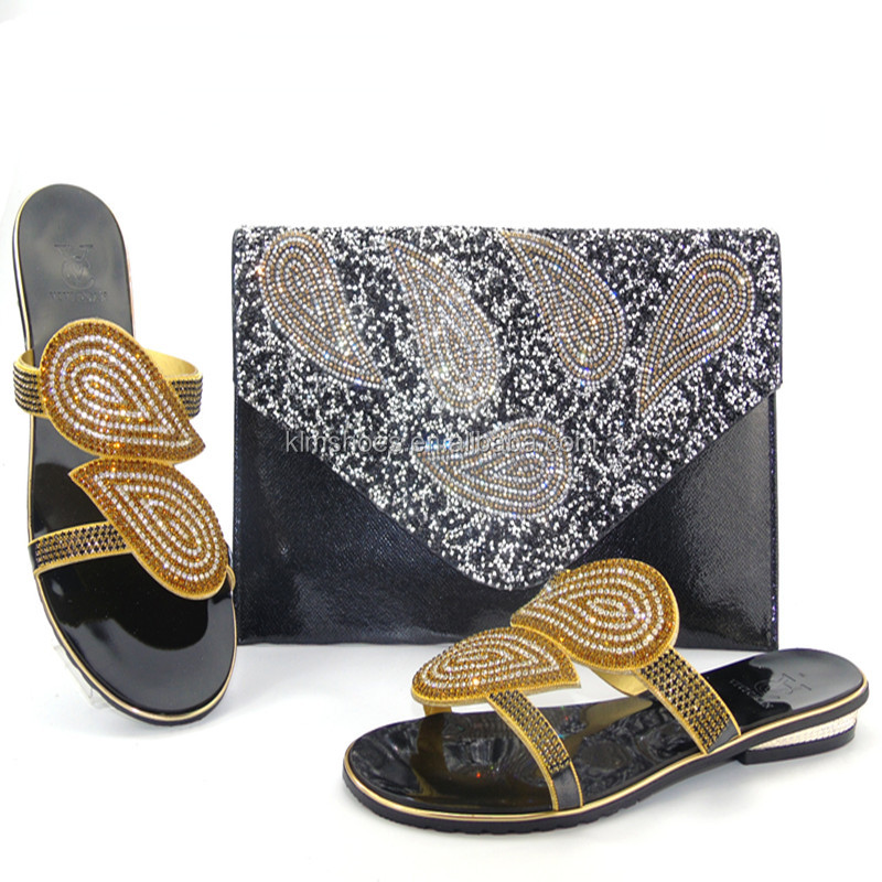Design African Shoe Bag And Shoe Shoe Set Italy Set Bag 08 And New Low THS17 And Heel Bag xrS0rA