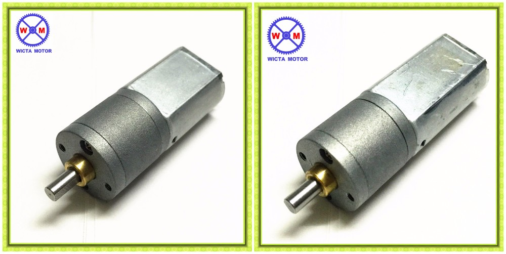 Low noise 20mm small weight and size Mini dc motor with gearbox, 12v gearmotor