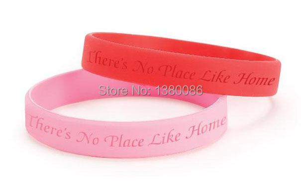 Light Pink Silicone Wristband And Red Rubber Bracelets Fashion Custom Wristbands Bracelet In Price On
