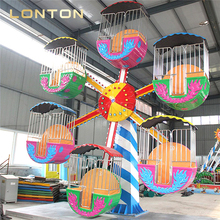Exported ferris wheel to Palestine!!! kids fun park electric mini ferris wheel for sale