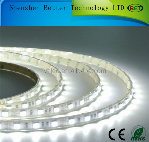 IP67 waterproof 5m 300 LED strip 5050 60LED/ m 12V SMD flexible light cold white warm white red blue yellow RGB