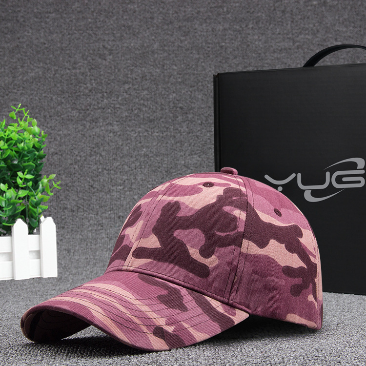2017 spring and summer new camouflage baseball cap fashion Korean version of the tide male and female models duck tongue hat