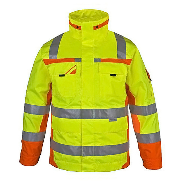 Water Proof Hi-Vis Reflective Safety Winter Work jacket